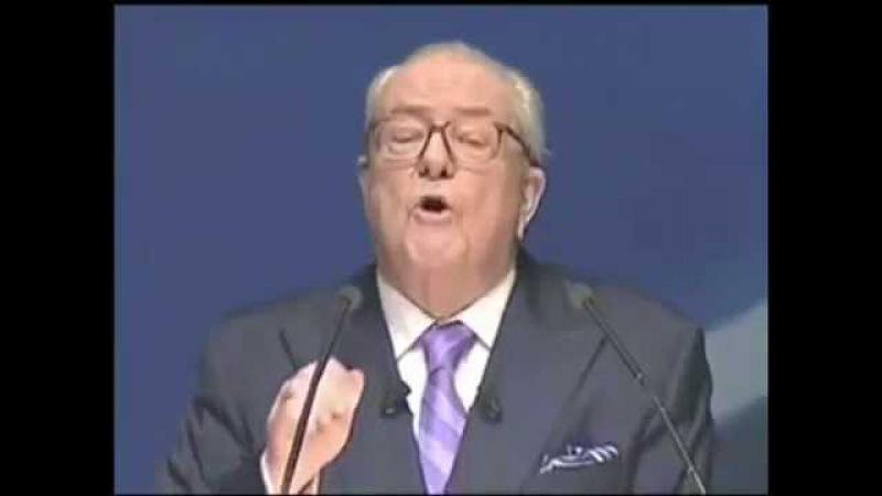 La vérité sur le Nouvel Ordre Mondial - JM Le Pen