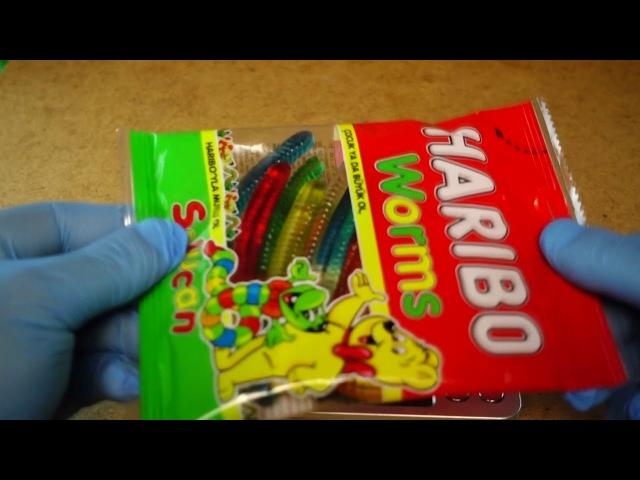 EXPERIMENT - HOW MUCH GRAMS : HARIBO CONFECTIONERY / КОНДИТЕРСКИЕ / ŞEKERLEME / الحلويات