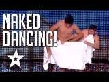 Naked French Guys Perform A Risque Towel Dance | Got Talent Global