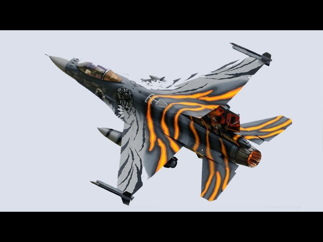 F-16 «Fighting Falcon» / Боевой сокол