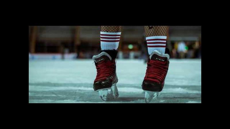 Freestyle Ice Skating Harley Quinn's skating squad