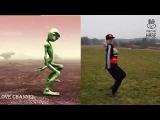 Веселый Танец Зеленого Человечка || Tanz mit Hase - Прикольный Танец || Helena Hase