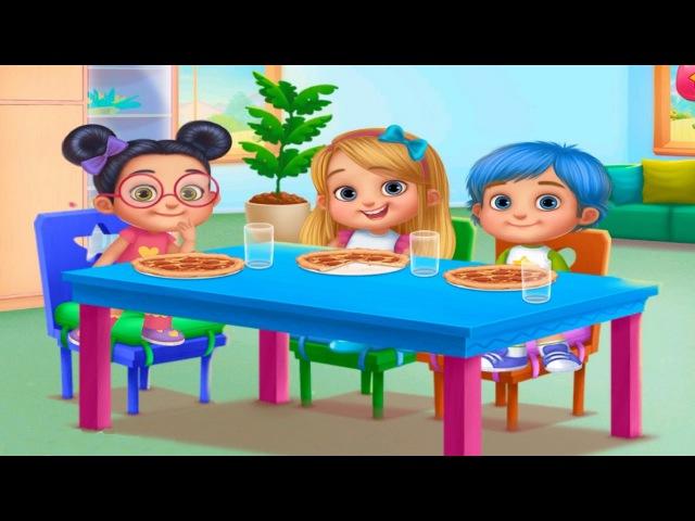 Супер Няня - Детские Шалости. Помоги Няне справится с малышами Катя, Настя и Андрей