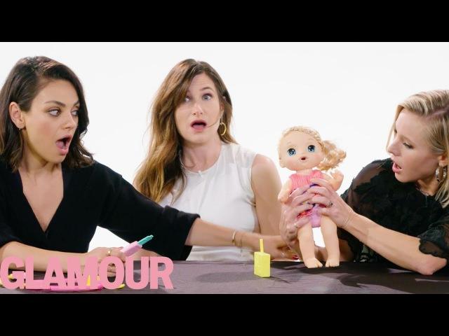Mila Kunis, Kristen Bell and Kathryn Hahn Review Kids Toys | Glamour