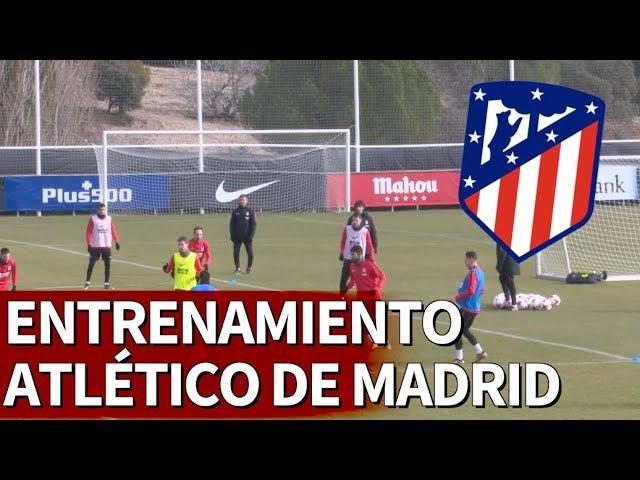 Entrenamiento del Atlético de Madrid de cara a la Copa del Rey | Diario AS