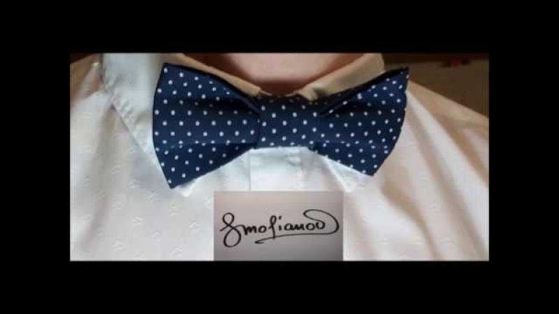 Пошив галстука бабочка Полный мастер класс от Геннадия Смольянова