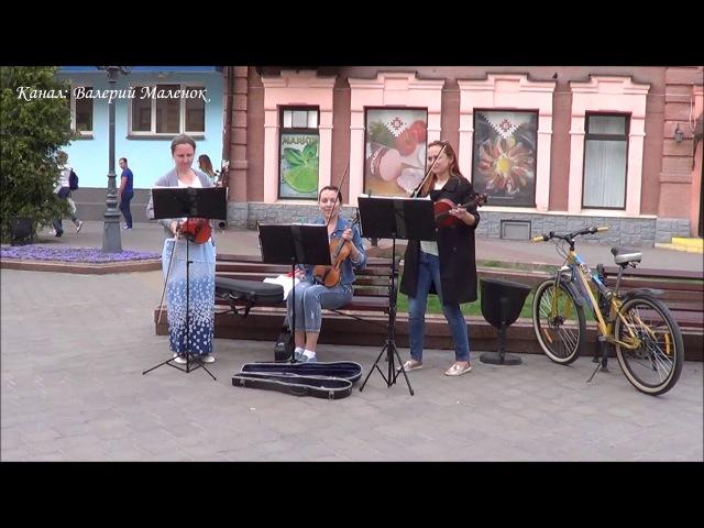 Летнее настроение! Скрипачки Бреста Brest! Street! Music!