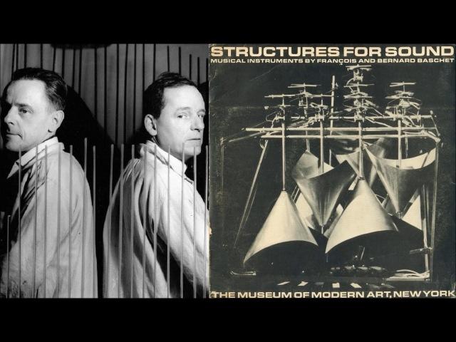 Structures for Sound (François and Bernard Baschet) (1963, vinyl)