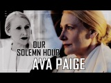 ► Ava Paige || The Maze Runner ● Our Solemn Hour