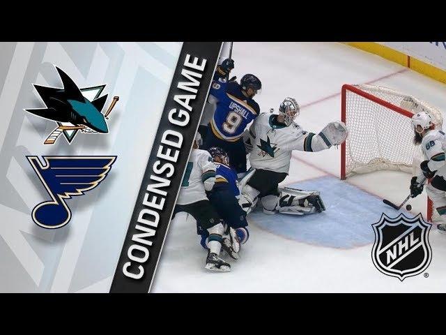 San Jose Sharks vs St. Louis Blues – Feb. 20, 2018