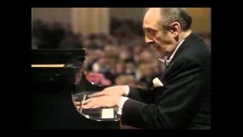 Horowitz - Liszt Deuxieme Annee V; Sonetto 104 del Petrarca (Moscow 1986)