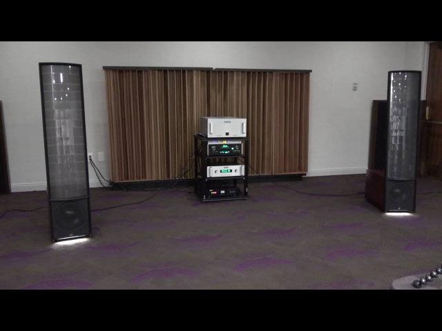 Электростатические колонки MartinLogan Expression ESL 13A Debut at Capital Audiofest 2016