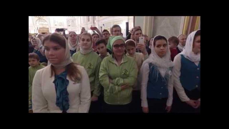 Патриарх Кирилл совершил всенощное бдение в домовом храме Московского епархиал...