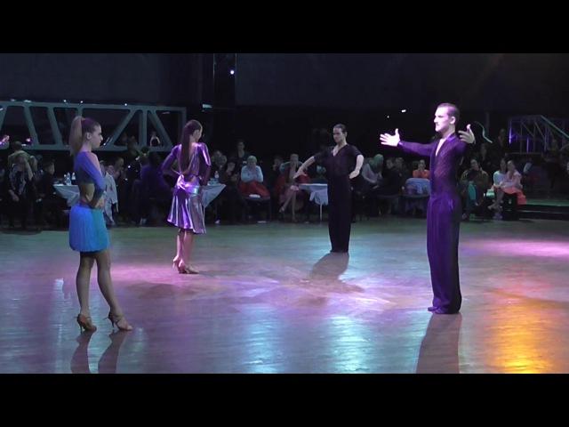 Шульга Михаил - Григорян Алёна cha-cha-cha. Киев Чемпионат Украины 2017