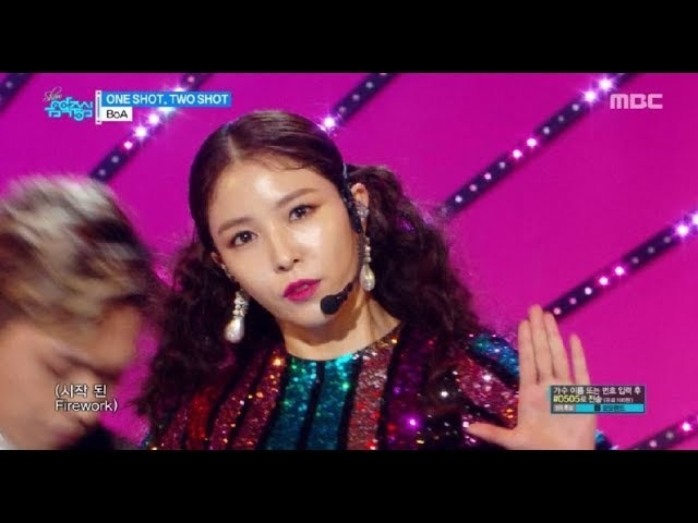 [Comeback Stage] BoA - ONE SHOT, TWO SHOT, 보아 - 원샷, 투샷 Show Music core 20180224