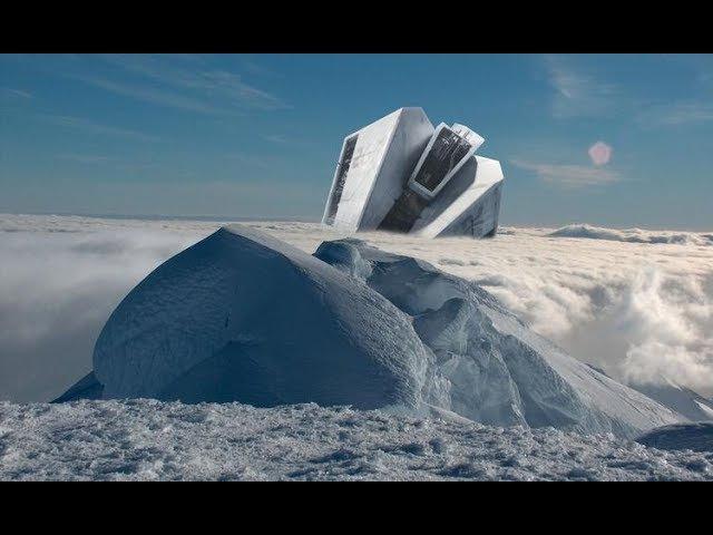 В Антарктиде найден вмерзший в лед НЛО.ШОК.Вторжение инопланетян неминуемо.Доку...