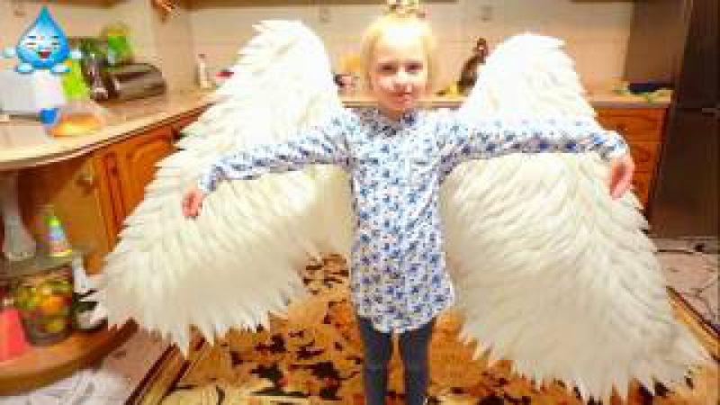 Крылья из изолона ППЭ Как сделать крылья из изолона