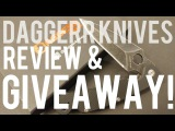 GIVEAWAY &amp REVIEW! Daggerr Knives Urban - EDC &amp Self Defense Knife from Russia! CLOSED