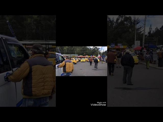Колумбия Эквадор пересечение границы автобус... Потерял день
