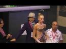Yana Kudryavtseva RUS Reifen GAZPROM Gymnastik Weltcup 2014 Stuttgart 23 03 14