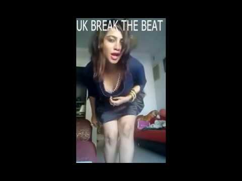 Hot Arshi Khan Dance With Naughty Teddy Bear in Night Time for Pakistani Team