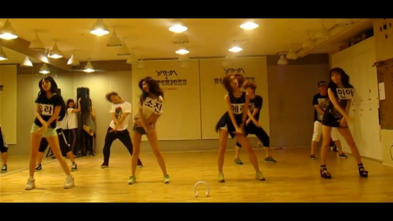 [VK] Girl's Day - Please tell me Dance practice 6