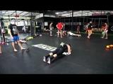 Школа бокса Good Old Boxing - Комплекс на пресс/кор(Луана-инста-22.07.17)