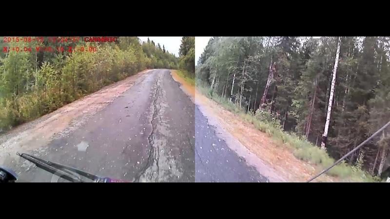 ремонт калевальской дороги песочком 3