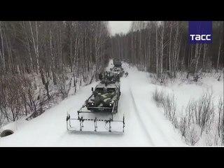Учения ракетчиков в Свердловской области
