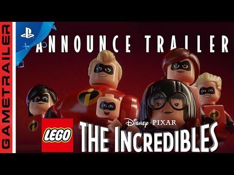 LEGO INCREDIBLES OS INCRIVEIS TRAILER OFICIAL REVELADO 2018 PS4 Xbox One PC Switch