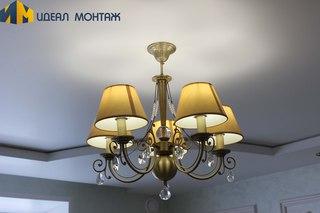 Установка светильника в подвесной потолок йошкар ола