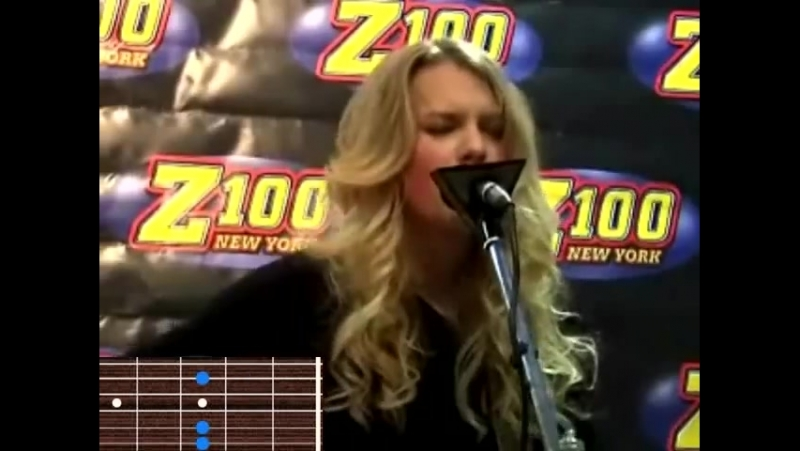 Taylor Swift - You're Not Sorry (Live acoustic at Z100 Studio, New York 2009)