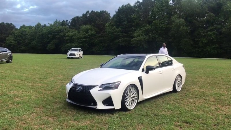 OMGSF Lexus GS F | Vossen X Work Wheels | Nalley Lexus Roswell | Butler Tire