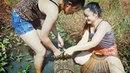 Cô gái xinh đẹp đi bắt cá - Cuộc sống quê tôi 43 | Beautiful girl to catch fish - Life in my country
