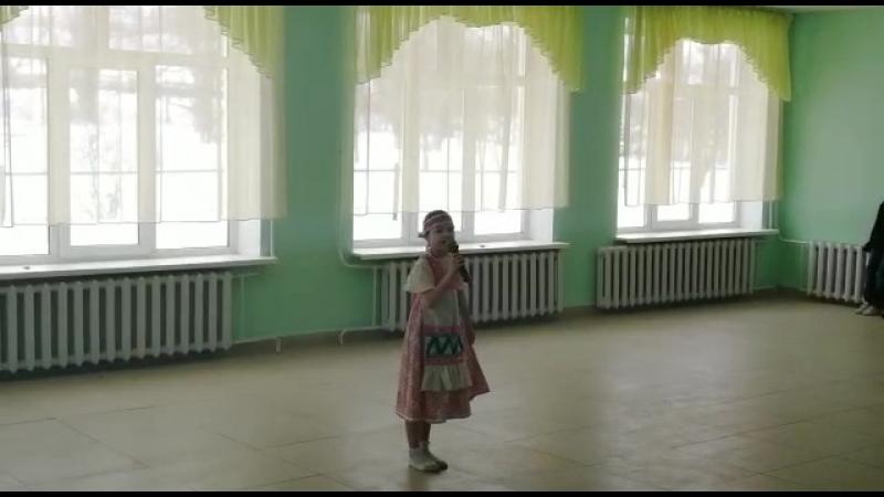 ай чу чу Икрамова Эмилия 1 класс
