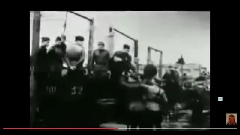 Казнь бандеровцев ОУН УПА Киев 1945 год