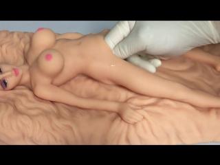 Мастурбатор в виде куклы,  для вашего члена (секс, игрушка, цп, cp, doll, школьница, вагина, мастурбатор, клитор, дрочка, онаниз