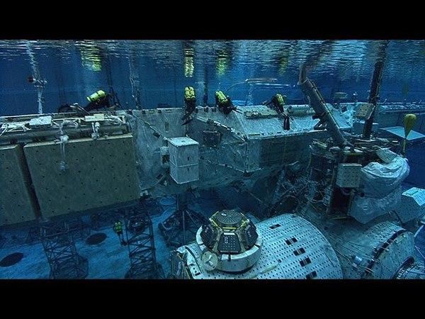 Neutral Buoyancy Lab NASA | JONATHAN BIRD'S BLUE WORLD