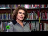 Фанни Ардан Fanny Ardant - Интервью каналу RT (Эфир от 30.01.2018)