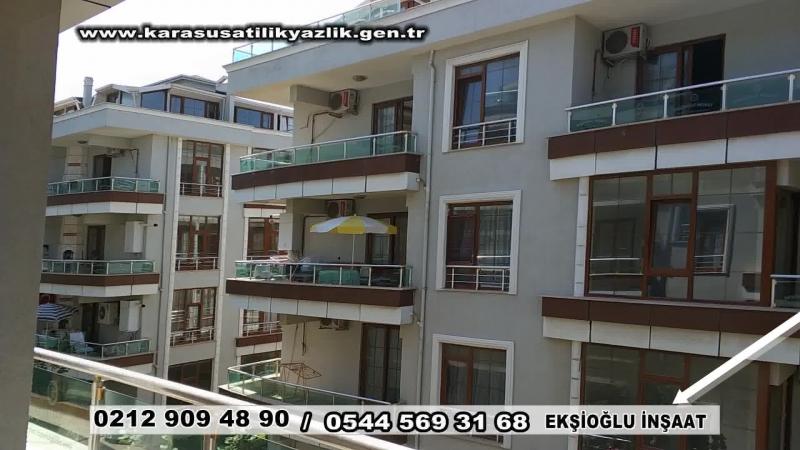 Karasu satılık yazlık ekşioğlu karasu satılık daire city projesi
