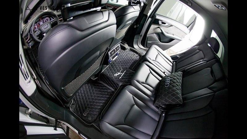 Подборка различных комплектов ковриков от автоателье Vestis