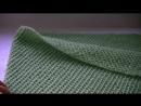 Вязание снуда ажурным узором на спицах