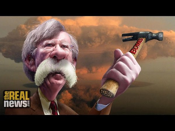 John Bolton: Another war-mongering racist JEW joins Jew Shill Trump Administration. The racist Jew Bolton hates China and Russia and all Eastern peoples.