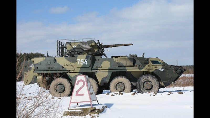 Львівські курсанти опановують сучасну українську броньовану техніку