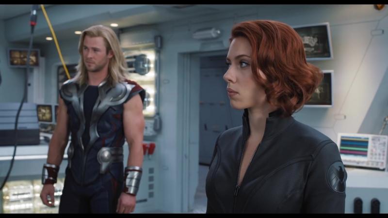 Мстители / The Avengers (дублированный трейлер / премьера РФ: 3 мая 2012) 2012, фантастический боевик,США,12