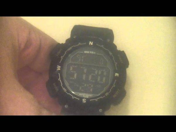 проверяем водозащиту китайских часов BISTEC 09638