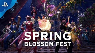 Monster Hunter: World - Spring Blossom Fest | PS4