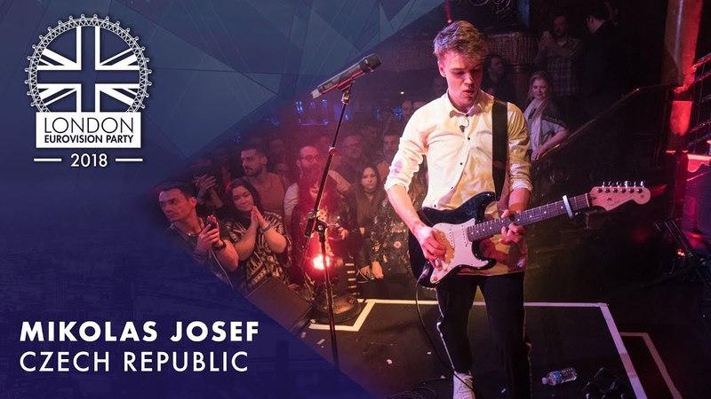 Mikolas Josef - Lie to Me | LIVE | OFFICIAL | CZECH REPUBLIC | 2018 London Eurovision Party