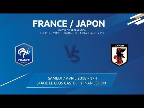 Equipe de France U20 Féminine : France - Japon, 7 avril 2018 - 17h I FFF 2018