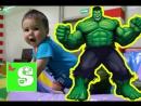 ХАЛК и МИКАЭЛЬ Огромная комната для Детей Superhero in Real Life ХАЛК в РЕАЛЬНОЙ ЖИЗНИ Видео для детей